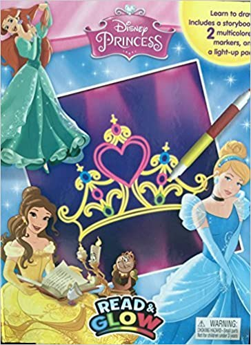 Disney Princess Read Glow Phidal Publishing Inc
