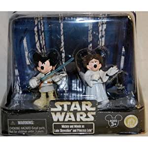 Disney Star Wars Mickey Luke & Minnie Leia