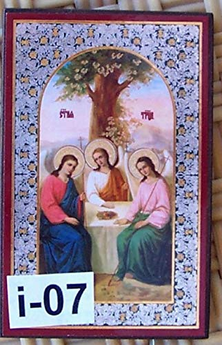 (Mini Icon Jesus Christ Virgin Mary Christian i-07)