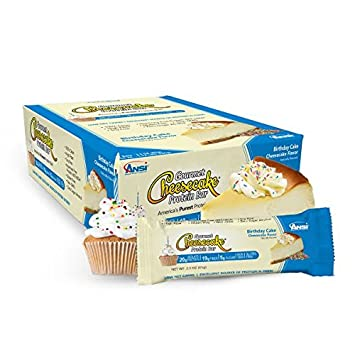 Amazoncom Cheesecake Bars Birthday Cake 12ct23 oz Health