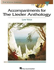 The Lieder Anthology - Accompaniment CDs: The Vocal Library Low Voice