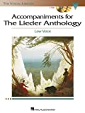 Accompaniments for the Lieder Anthology, Low Voice, Laura Ward, 1423413067