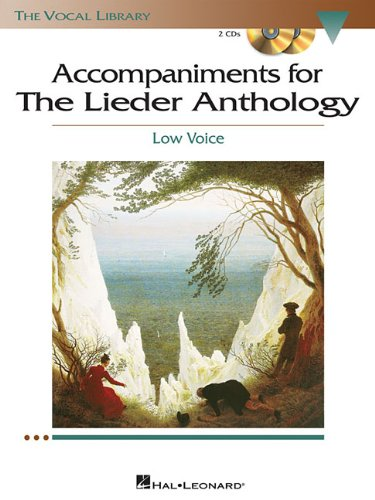 Free The Lieder Anthology - Accompaniment CDs: The Vocal Library Low Voice