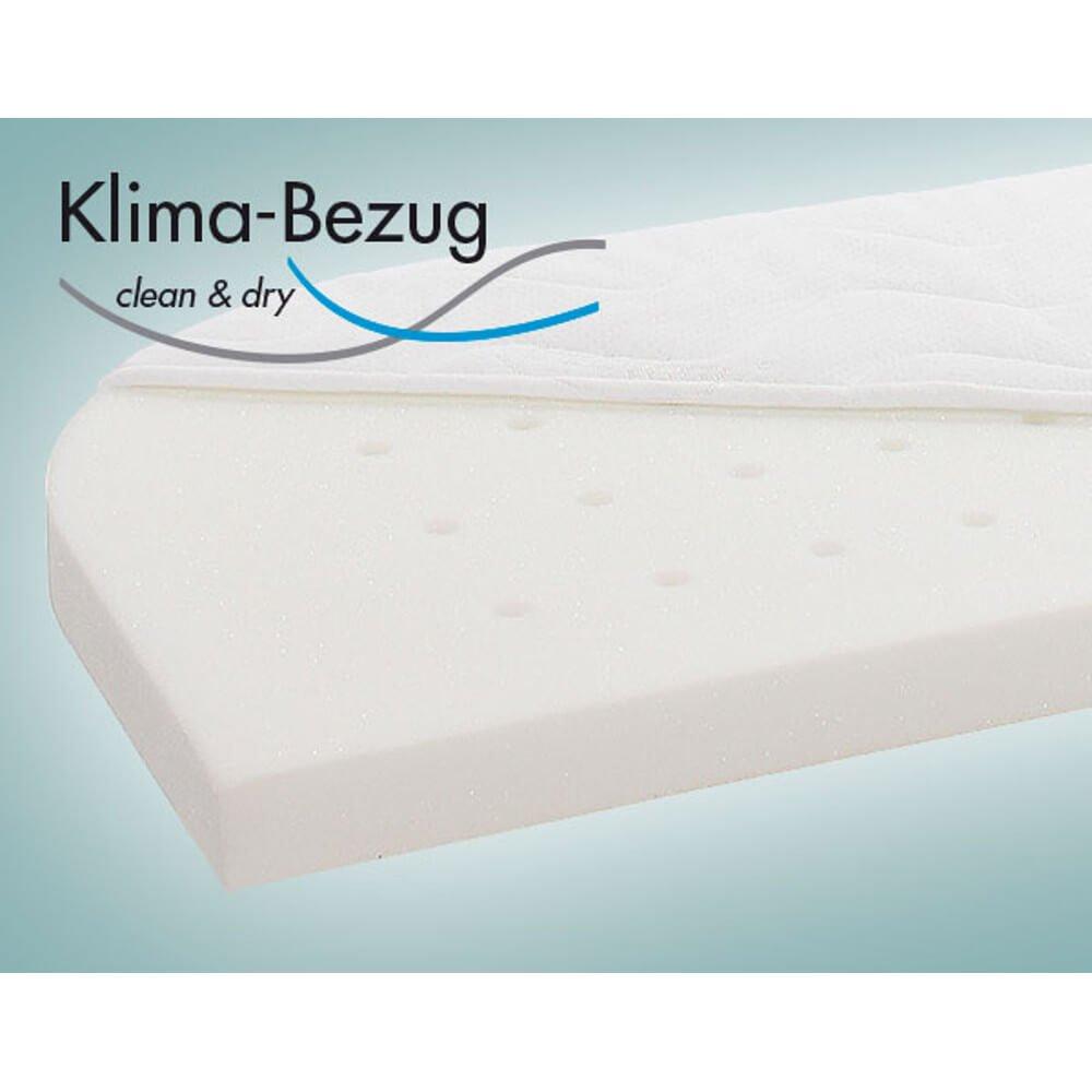 wei/ß babybay Matratze Smart Comfort extraluftig f/ür Trend