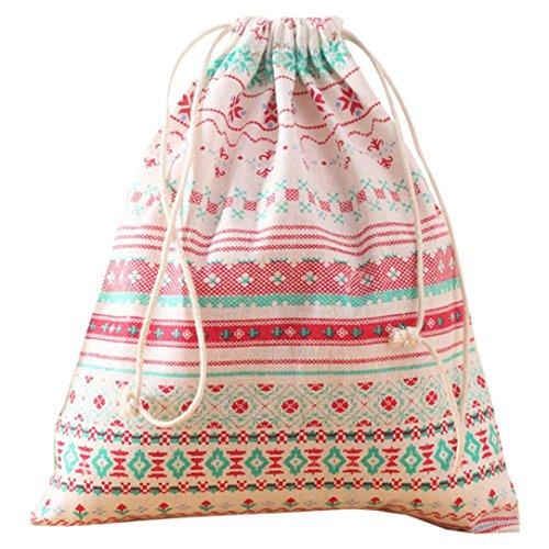 Ecosin Backpacks Printing Drawstring Backpack