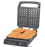 Appliances : Chef's Choice 854 Classic Pro 4-Square Waffle Maker