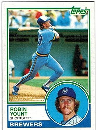 new style fffa0 ea7b5 Amazon.com: 1983 Topps Milwaukee Brewers Team Set with Paul ...