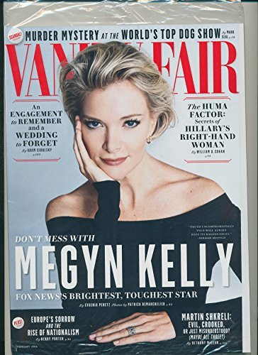Vanity Fair Magazine (February, 2016) Megyn Kelly Cover