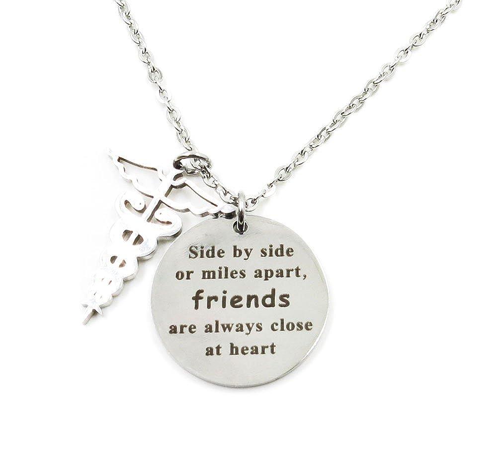 Amazon.com: Collar llavero de Charm.L Grace Girls Jewelry de ...