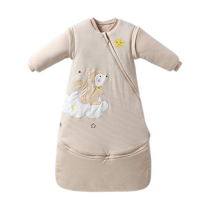 KINDOYO Saco De Dormir Usable para Bebé - Suave Y Transpirable Saco De Dormir Agradable para La Piel Invierno Cálido Unisexo Niño Anti-Patada Ropa De ...