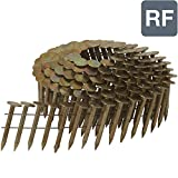 """Metabo HPT Roofing Nails, 1-1/4"""" x .120"""", High Wire Coil, Smooth Shank, 7200"""