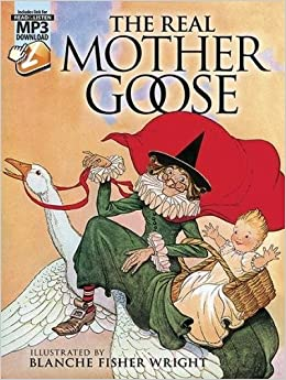 Amazon com: The Real Mother Goose: with MP3 Downloads (Dover Read