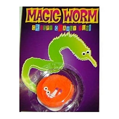 Magic Wiggly Worm (Sold individually, color will vary): Toys & Games [5Bkhe0404831]