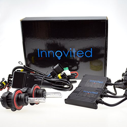 Innovited AC 35W HID Xenon Conversion Kit - H13-3 9008 - 6000K Bi xenon HI/LO HID - 2 Year Warranty