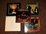 5 Jethro Tull Vinyl LP Album Set Broadsword, Songs from the Woods, Repeat Vol II, Busting Out, Heavy Horses