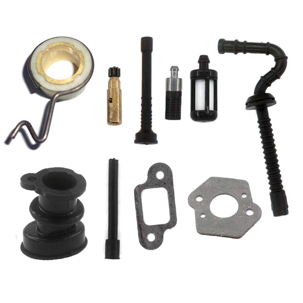 AISEN Carburateur pompe daspiration pour pompe /à huile joint pour Stihl 021 023 025 MS210 MS230 MS250 Tron/çonneuse filtre dhuile pompe /à huile essence