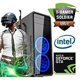 PC Gamer INTEL i5 7400 3.0GHZ 6MB GEFORCE GTX 1050 Ti 4GB 8GB HD 1TB
