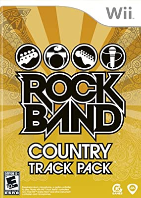 Amazon com: Rock Band: Country Track Pack - Nintendo Wii