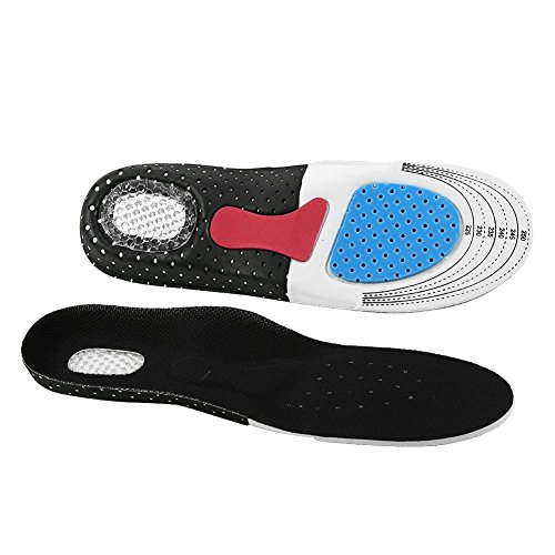 (Arch Support Insole EVA Insert Shock-absorptation Breathable Orthotics Sport Shoes Pad Men Women Full Length Adjustable for Plantar Fasciitis, Running,Heel Spurs & Foot Pain(255-280mm(41-45)))