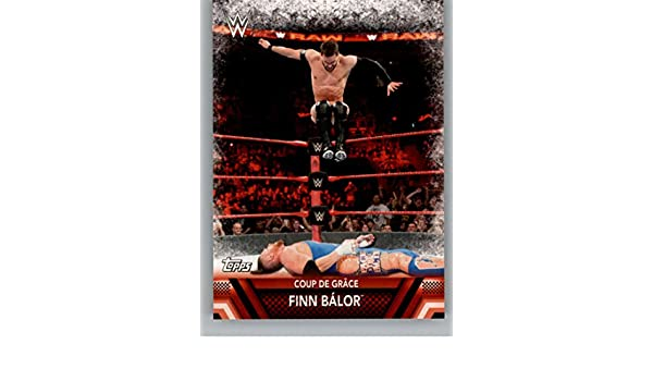 Amazon com: 2017 Topps WWE Then Now Forever Finishers and