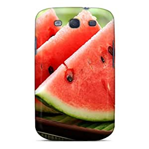 High Quality Shock Absorbing Case For Galaxy S3-watermelon Red Food