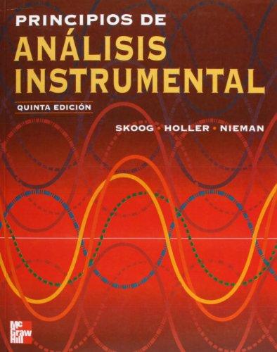 Principios de Analisis Instrumental - 5 Edicion