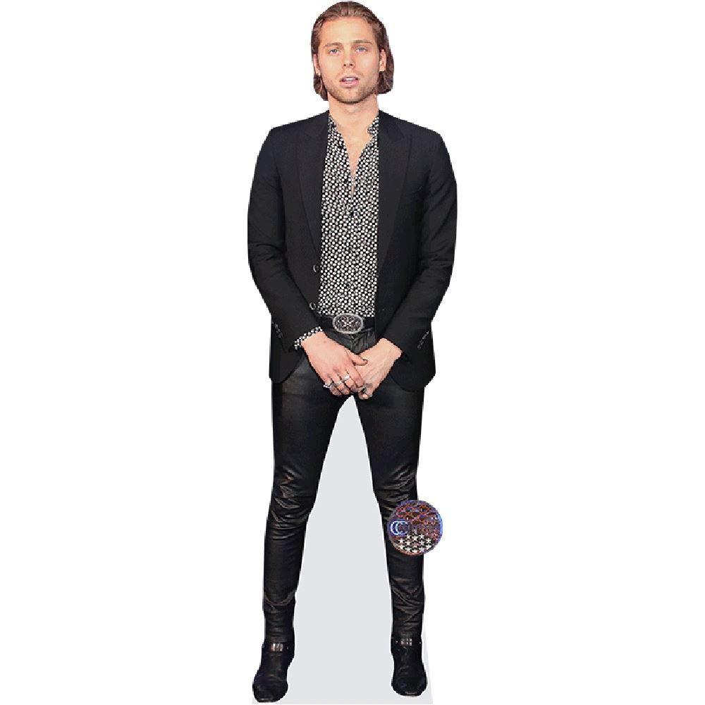 Celebrity Cutouts Luke Hemmings (Blazer) Pappaufsteller lebensgross