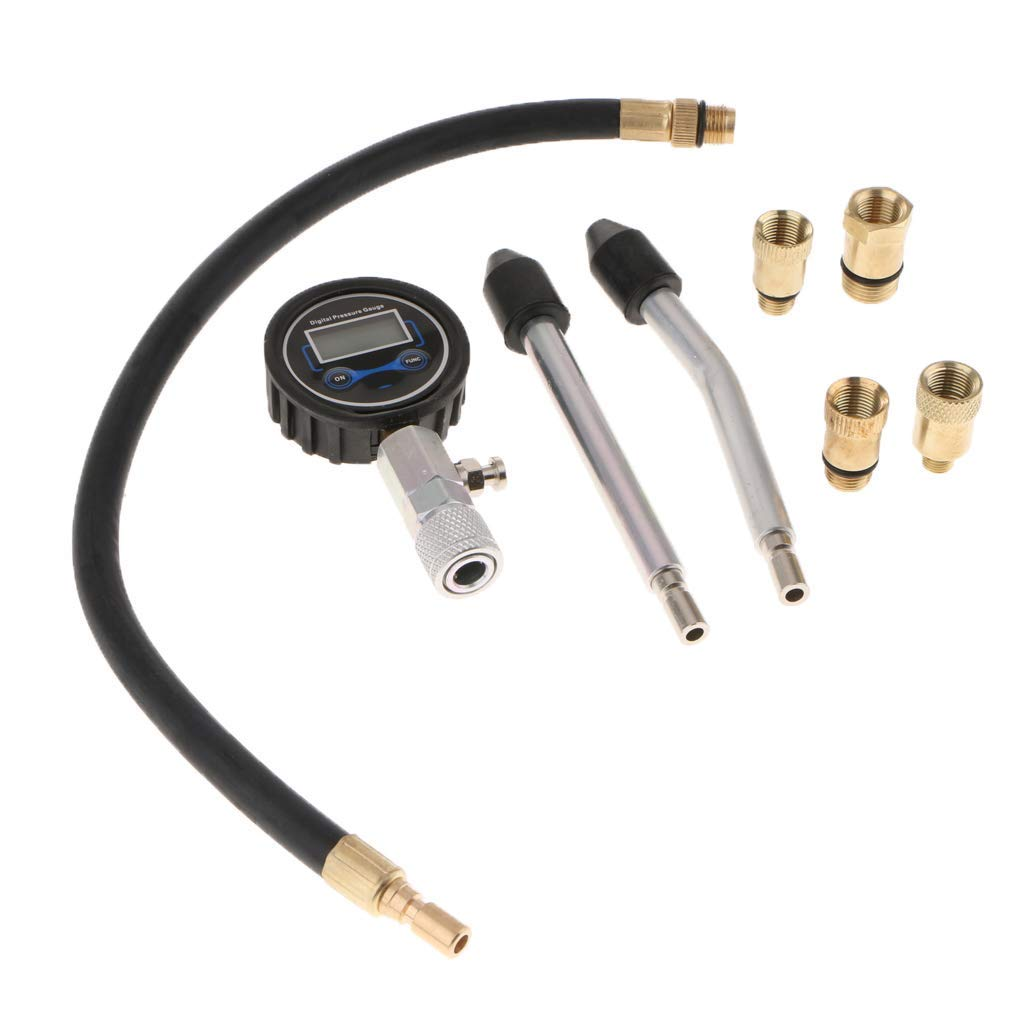 Backbayia Testeur de Compression//Testeur de Jauge de Pression Jauge de Pression Injection de Combustible