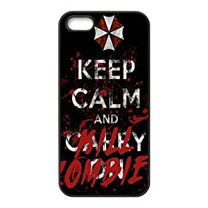 keep calm and kill?zombies Phone Case for Iphone 5s
