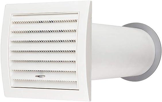 calimaero MK 100 mm Conducto de Campana Kit de Rejilla de Ventilación Ventilador Extractor: Amazon.es: Bricolaje y herramientas