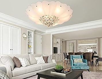 Wohnzimmerlampe Decke Modell : Deko deckenleuchten decken pastoral runden