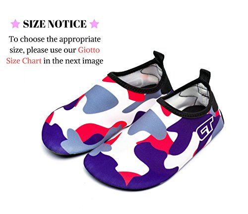 Blue Quick Water Non Swim for D5 Giotto dark Shoes Men Slip Barefoot Kids Women Dry I6xEYZn