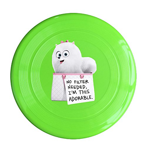 DETED Fashion The Secret Life Of Doggy Frisbee - KellyGreen