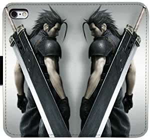 Generic Custom Flip Wallet Case,download-final-fantasy Leather Case for iPhone 5 5S SE Black S-45138705