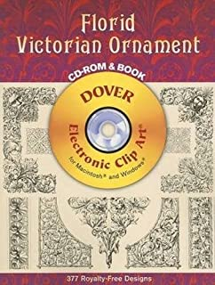 Victorian Designs CD-ROM and Book (Dover Electronic Clip Art ...