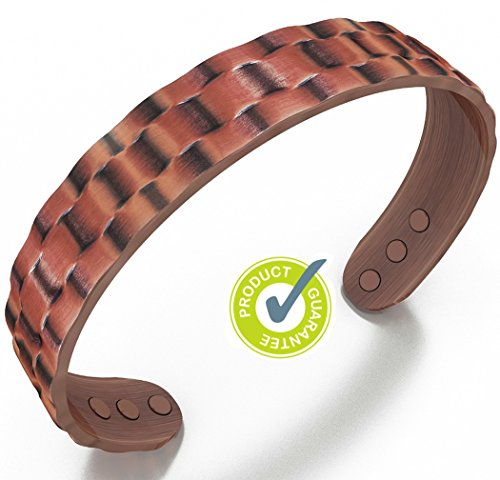earth-therapy-pure-copper-magnetic-heavyweight-cuff-bracelet-for-men-recovery-and-injury-relief-golf