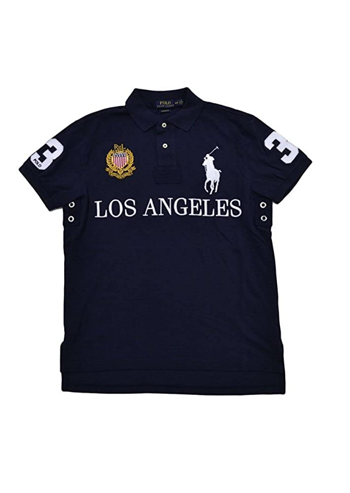 Polo Ralph Lauren Mens Custom Fit City Polo Shirt at Amazon Men s Clothing  store  734ea298af