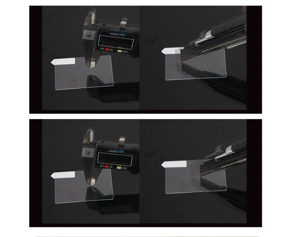 HomyWord Proteggi schermo in vetro temperato ottico per Sony a5000 a6000 a6300 nex-7 nex-6 nex-6L a3000 Panasonic W850K