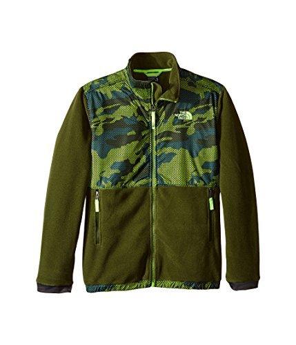 - The North Face Kids Boy's Denali Jacket (Little Kids/Big Kids) Terrarium Green Mesh Camo (Prior Season) X-Large