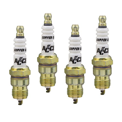 - ACCEL 0276S-4 Shorty Copper Core Spark Plug, (Pack of 4)