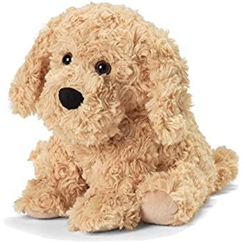 Intelex Warmies Microwavable French Lavender Scented Plush, Golden Dog Warmies, Godlen Dog, One Size