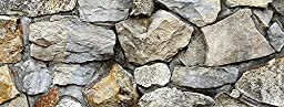 Silver Medley Rock / HD Stone Aquarium Background 21\