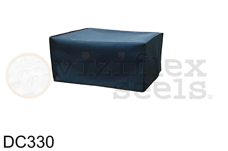 "Viziflex Blue Nylon Multi Functional Printer Dust Cover - 17"" W X 16"" D 8"" H"