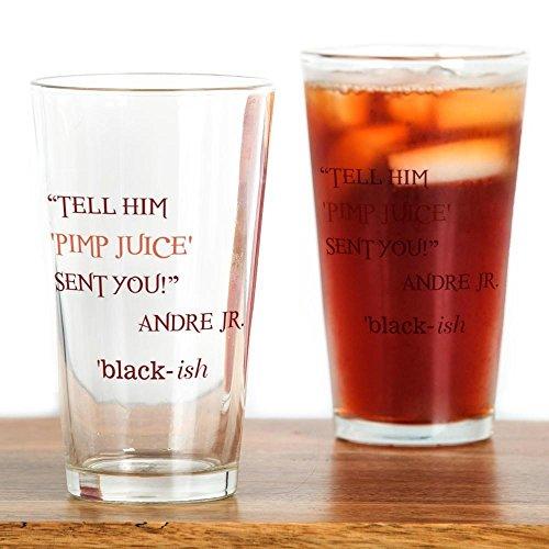 CafePress - PIMP JUICE - Pint Glass, 16 oz. Drinking (Black Pimp Cup)