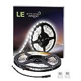 Lighting EVER Lampux 12V Flexible LED Strip Lights, Daylight White, 300 Units 3528 LEDs, Non-waterproof, Light Strips, Pack of 16.4ft