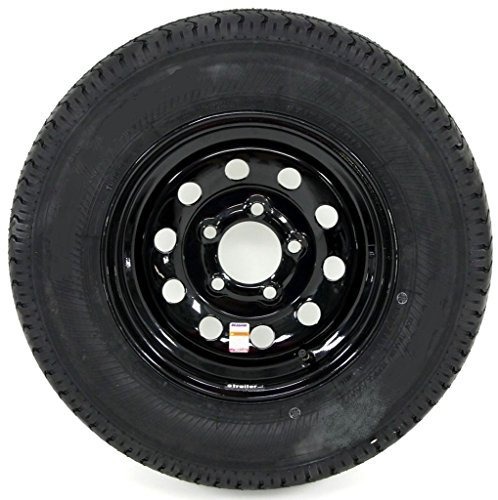 eCustomRim 2-Pack Trailer Tire On Black Mod Rim ST205/75D15 Load C (5 Lug On 4.5'') 15 x 5 by eCustomRim (Image #3)