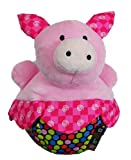 Amazing Baby Roly Poly Pink Pig Farm Animal Chime Plush Toy, Baby & Kids Zone