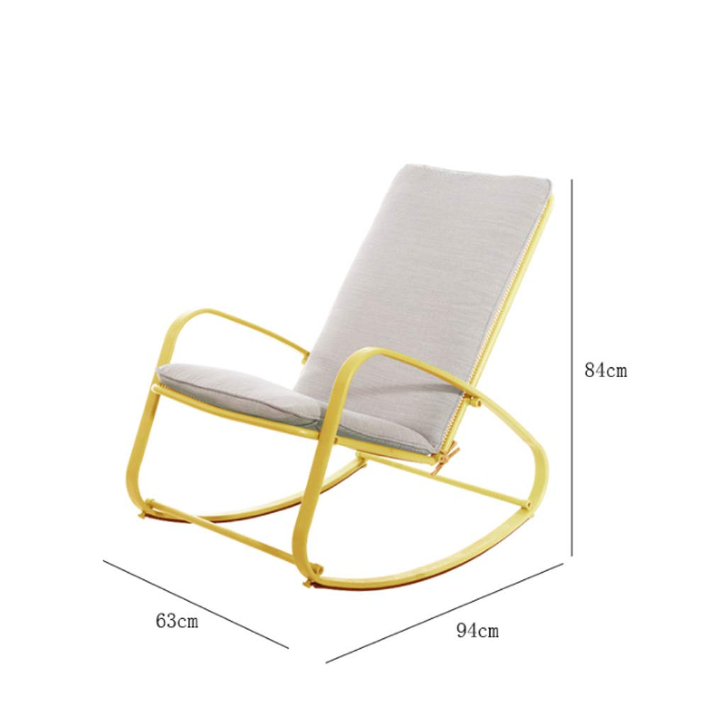 Silla Mecedora Silla para Adultos Siesta Silla reclinable ...