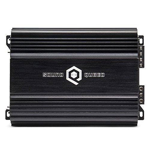 SoundQubed S1-850 900W RMS Single-Channel (Monoblock) Class D Car Audio Amplifier with Remote Gain Control ()