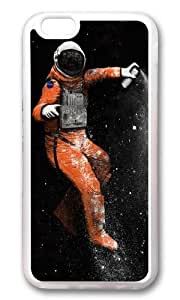 Apple Iphone 6 Case,WENJORS Awesome Astronaut Soft Case Protective Shell Cell Phone Cover For Apple Iphone 6 (4.7 Inch) - TPU Transparent